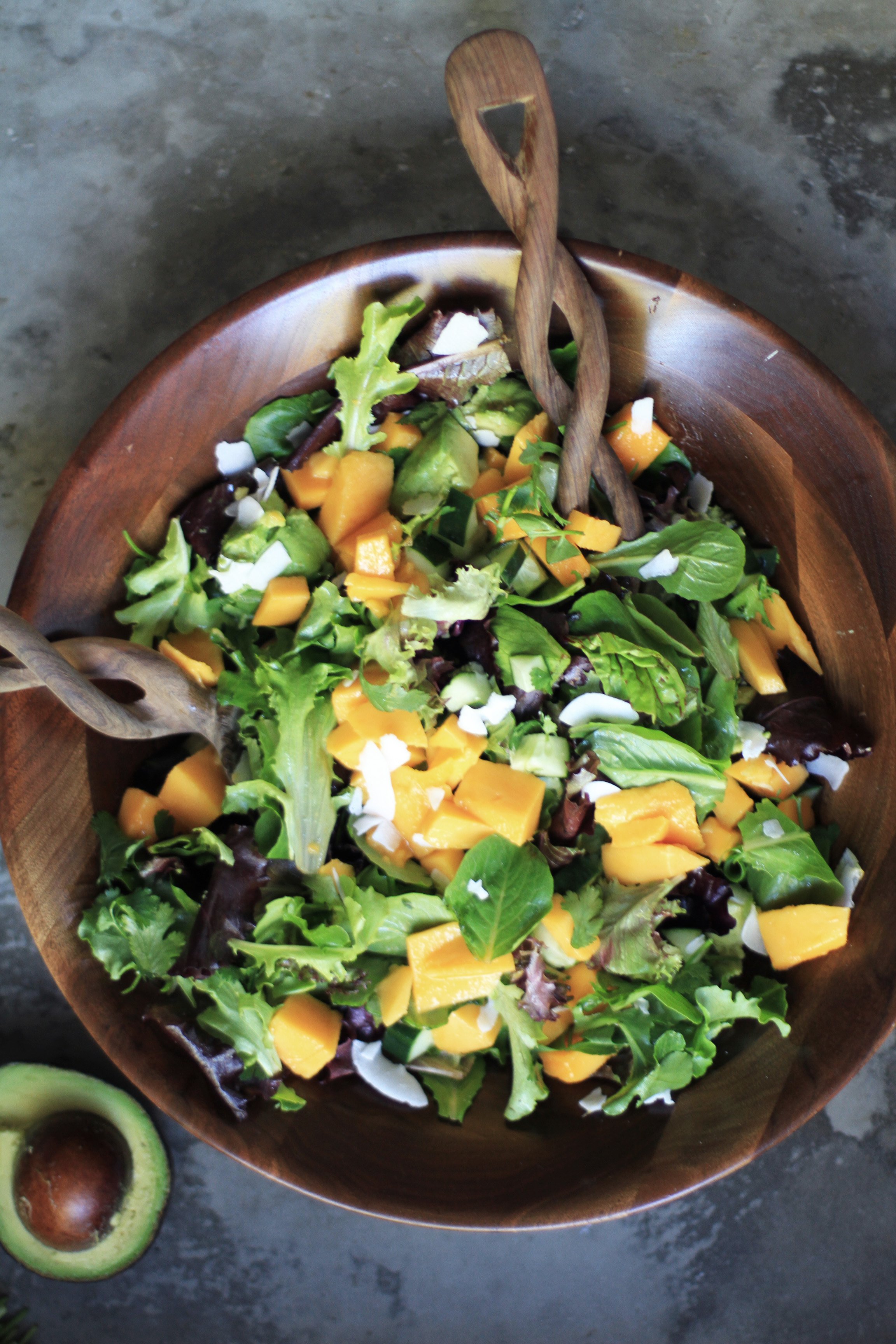 Mango And Coconut Summer Salad