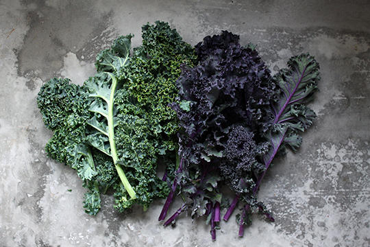 Kale causes thyroid problems