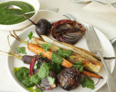 Roasted Vegetables with a Salsa Verde | Autoimmune-Paleo.com