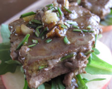 Rosemary and Garlic Beef Liver Appetizer | Autoimmune-Paleo.com